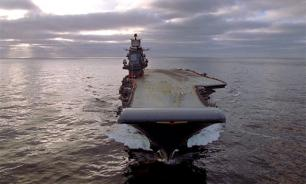 Russian aircraft carrier Admiral Kuznetsov leaves Syria conflict zone