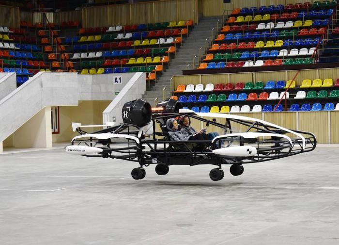 Russia starts testing prototype of flying taxicab