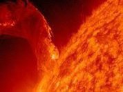Solar flare could cause a geomagnetic storm