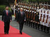 Putin dazzles in China