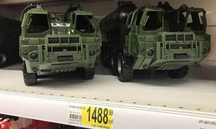 Russian toy stores sell plastic model of S-300 missile system