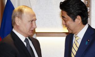 Japanese customers gobble up Putin's sake