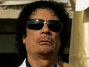 Gaddafi hoped to stay in power with Israel's help
