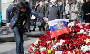 Revisiting St. Petersburg metro bombings: Two events on the same day