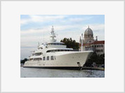 Russia's richest men spend hundreds of millions of dollars to renovate their luxury yachts