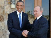 Putin overshadows blood-hungry, 'exceptional' Obama