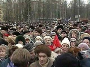 Retirees demand Russian government should step down
