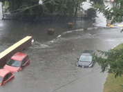 Lightning strikes children during unusually heavy storm in Moscow