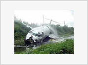 Iranian military plane crashes in Tehran killing 38 people