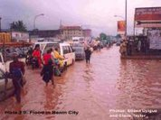 Where is this story? Benin under water