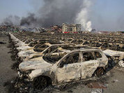So what exploded in China on 12 August?