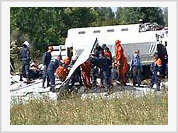 Bodies of dead passengers were falling into villages of Rostov region