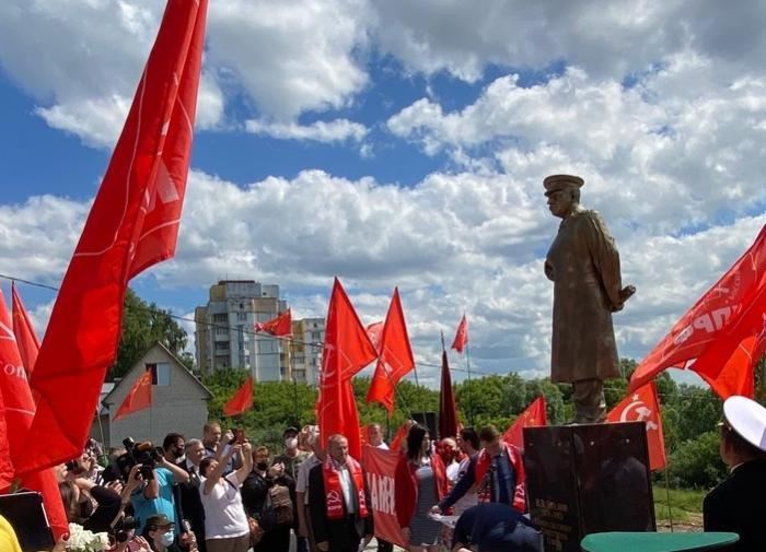 Russian businessman erects monument to Stalin on his property