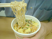 Dry noodles cause vitamin deficiency and stomach ulcer