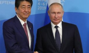 Japan's Shinzo Abe to Putin: Let's conclude peace treaty