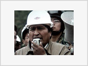 Evo Morales announces nationalization of Bolivia's oil and gas