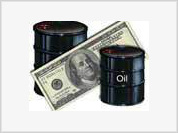 Oil down, dollar up
