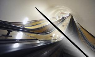 Moscow metro passengers injure fingers on needles in escalator handrails