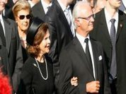 Queen of Sweden tries to save father's image