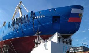 Russia launches world's most powerful nuclear icebreaker