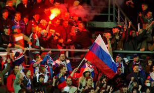 Western media accuse Russian soccer fans of heterosexuality