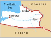 Russia's Kaliningrad enclave to become part of EU and euro zone