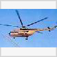 Chinese about to knock down Russian Mi-8 helicopter with stick