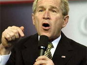 Bush acknowledges the collapsing US economy