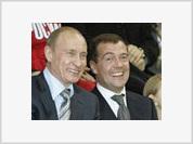 Vladimir Putin may become Dmitry Medvedev's successor at Gazprom