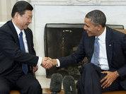Obama meeting Jinping