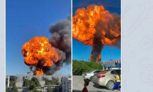 Fire at gas filling station in Novosibirsk leads to massive explosion
