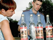Russians drink 215 million decaliters of vodka a year, 40% of it is illegal
