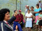 Indignation at the murder of Berta Cáceres
