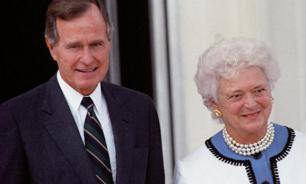 Putin presents his condolences to George H. Bush