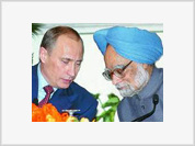 Putin fights with US and European competitors on his visit to India