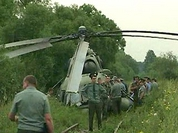 Two Mi-8 choppers crash in Russia today, killing 4
