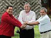 Argentina, Brazil and Venezuela discuss South American gas pipeline