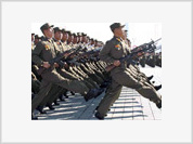 North Korea to strike missile blow on USA if it defends South