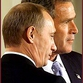Putin determined to argue with Bush during Russia-USA summit in Bratislava