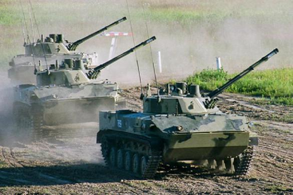 Russia will design a new wheeled tank with a 125 mm gun.