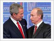 Putin answers Bush word for word