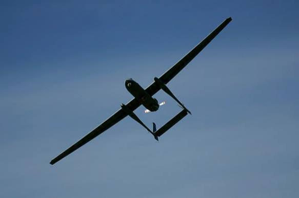 Strategic US drone spies on Donbass