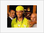 Ronaldinho joins Kaka and Alexandre Pato in all-Brazilian attack