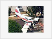 Small plane crashes into California homes