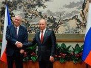 Czech Republic seeks Putin's support at the UN