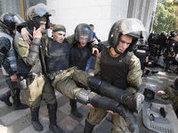 Poroshenko blames Russia for recent riots in Kiev