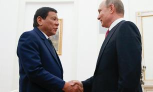 Philippine President Duterte asks Putin for state-of-the-art weapons