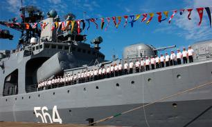 Russian fleet to control Mediterranean