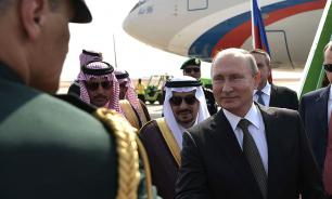 Putin starts historic visit to Saudi Arabia