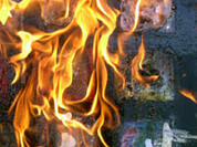 Villagers lynch rapist of two underage girls and burn down his house
